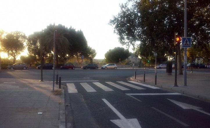 Nuevo semáforo en Procuradora Ascensión García con Concejal Alberto Jiménez