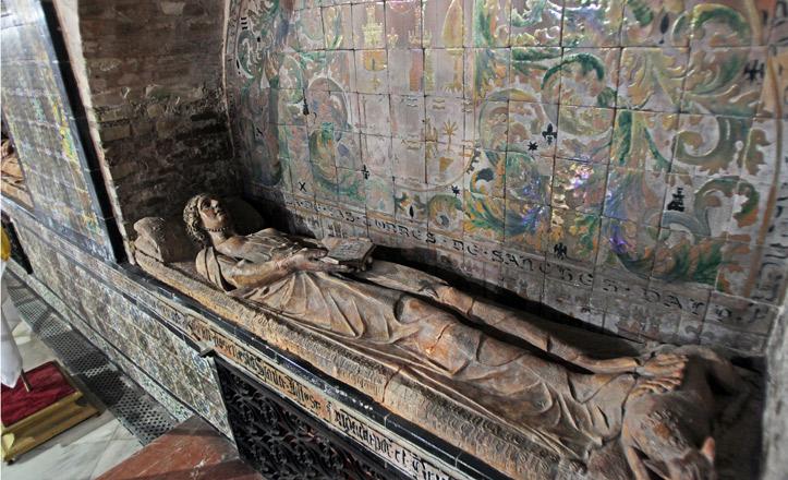 El sepulcro de los Guzmanes, en Omnium Sanctorum
