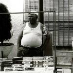 El puesto de VHS y cassettes