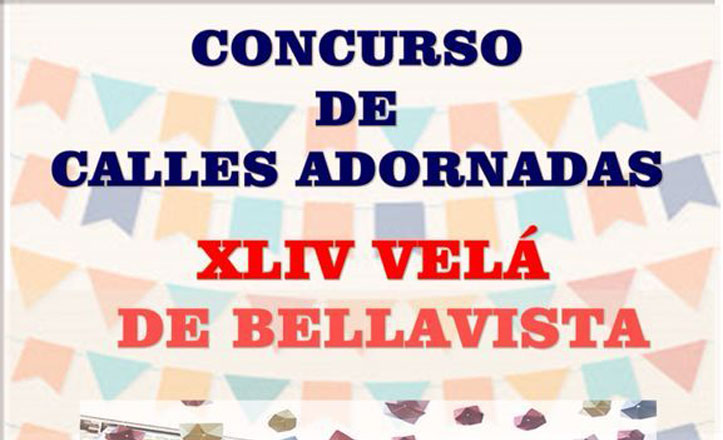 Bellavista organiza el primer concurso de calles adornadas en la Velá