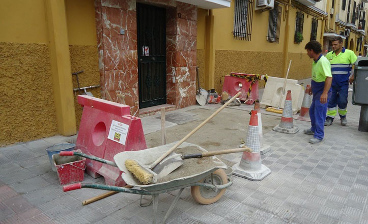 Eliminación de barreras arquitectónicas en la calle Sor Francisca Dorotea