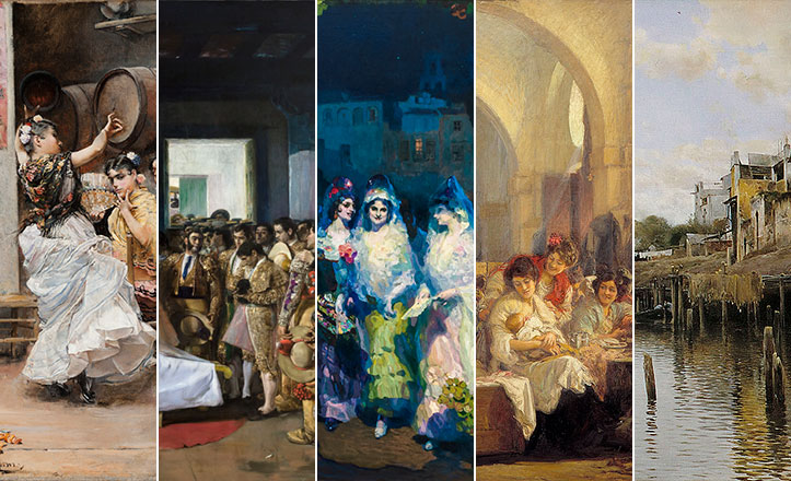 Arte Y Cultura Sevilla Motivos: Sevilla En Cinco Obras Del Bellas Artes