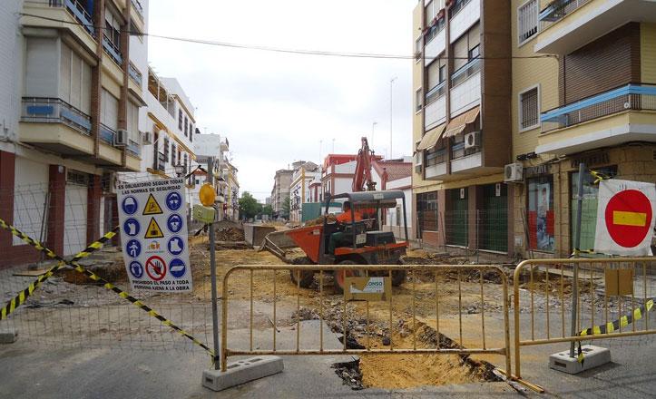 Corte total en el suministro de agua por las obras de José Maluquer este miércoles