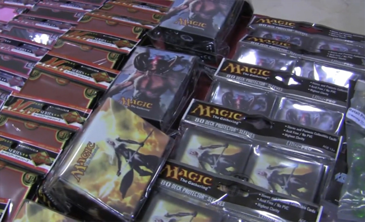 Cartas del juego Magic: The Gathering