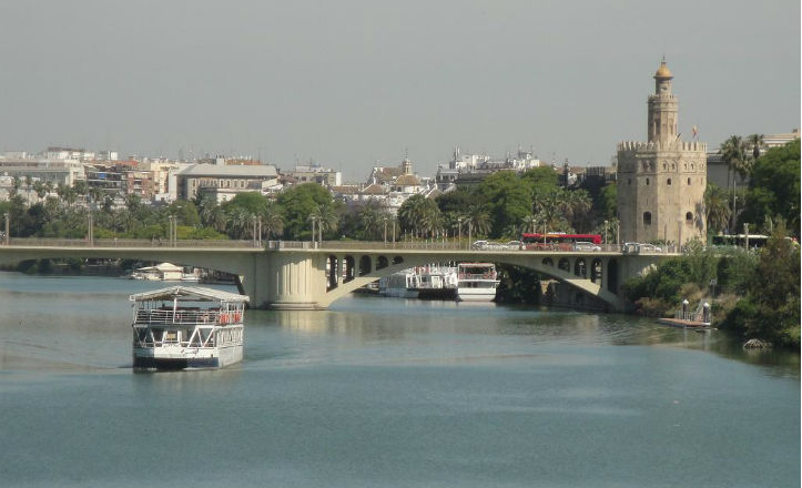 Crucero río Guadalquivir