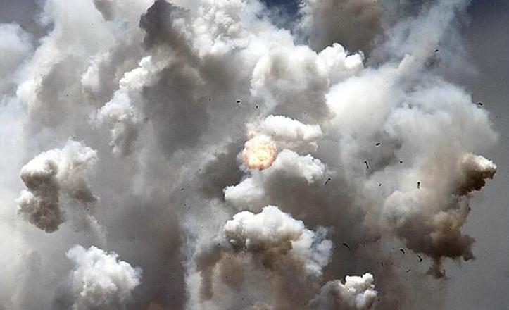 La pólvora, explosivo que se extrae a partir del salitre / Juan Carlos Soler