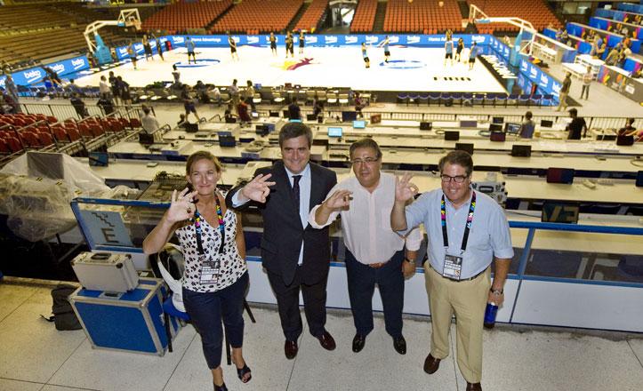 San Pablo se engalana para el Mundial de Baloncesto