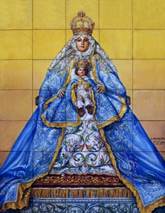 Azulejo del convento de la Encarnación