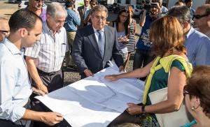 Conectar Pineda con el resto de la ciudad, «algo básico» para Zoido