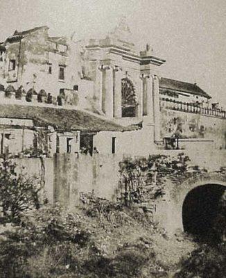 La Puerta de Jerez y el arroyo Tagarete en el siglo XIX, por Joseph de Vigier
