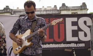 Diez horas de blues y swing en Sevilla