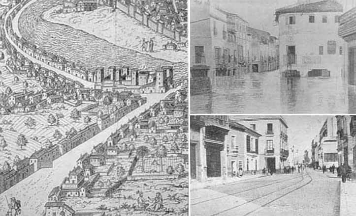 San Jacinto, el antiguo camino a San Juan de Aznalfarache
