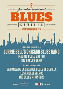 Cartel II Festival Blues de Sevilla