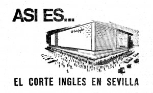 1968: La revolución comercial de Sevilla llega con El Corte Inglés
