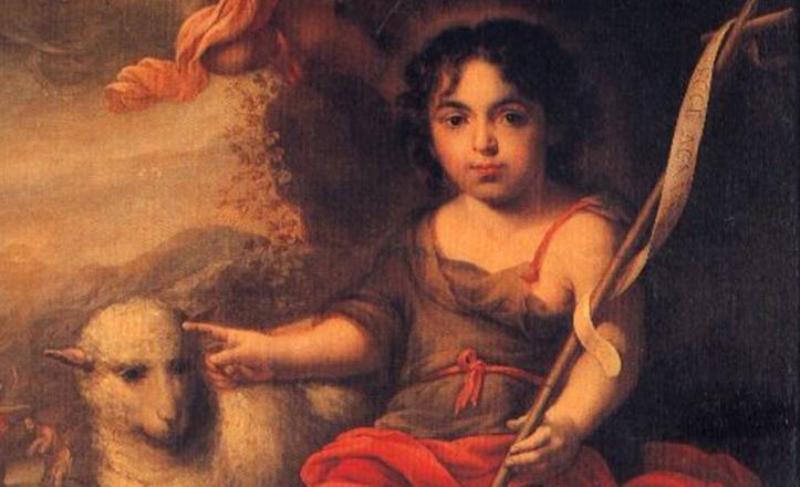 «San Juan Bautista niño», de Francisco Meneses