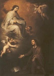 Aparición de la Virgen de la Merced a San Pedro Nolasco