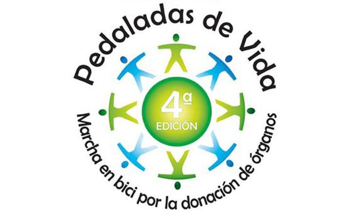 Logo de la IV edición de la marcha «Pedaladas por la vida»