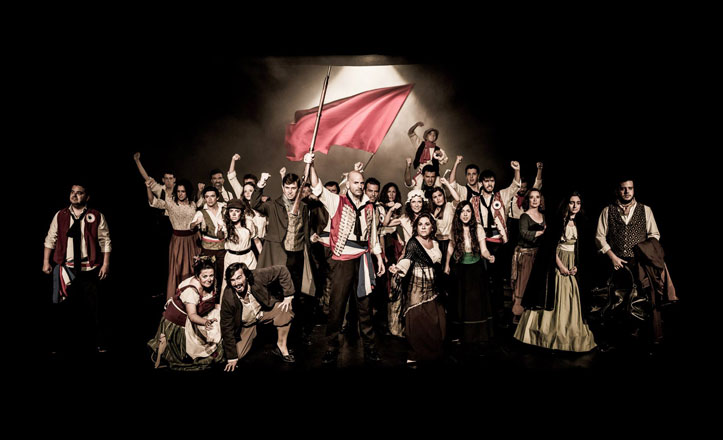 El musical de Los Miserables regresa al colegio Santa Ana