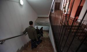 Acceso al panteón desde la Facultad de Bellas Artes / J. Galiana