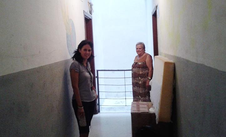 Viviendas sociales de la calle Burdeos, 8, en Los Bermejales