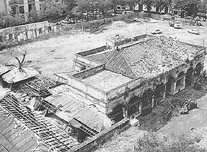 Detalle de la plaza de la Encarnación