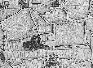 Plano de la plaza de la Encarnación
