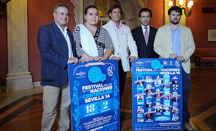 Presentación del Festival de las Naciones 2014