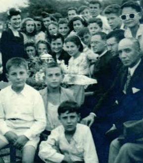 Año 1945. Celebración del torneo de fútbol «Nuestra Señora de los Dolores»