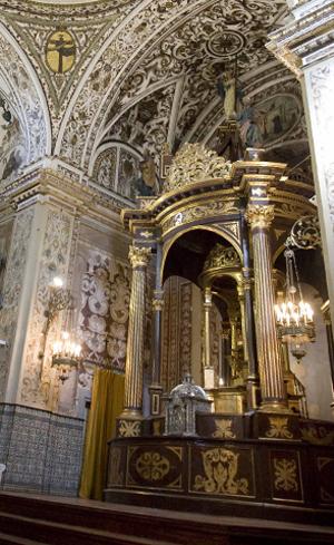 Doble baldaquino de San Pedro de Alcántara / Kako Rangel