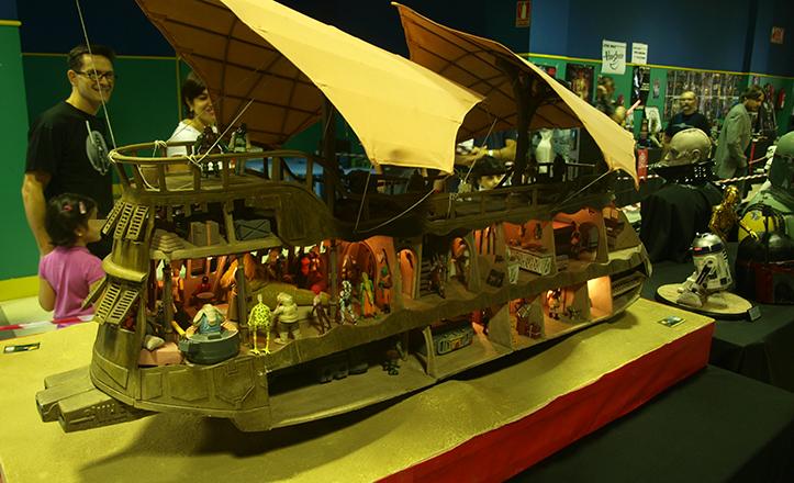 Maqueta de la Barcaza de Jabba el Hutt