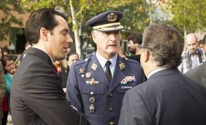 Pablo Muñoz Cariñanos, el General Castillo y Juan Ignacio Zoido / Fran Piñero