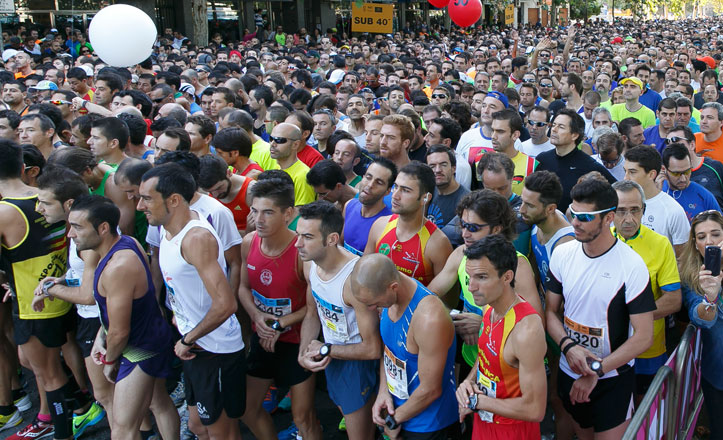 La carrera popular del Casco Antiguo consigue el récord de participantes