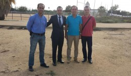 Reunión acerca del club de atletismo en Bellavista