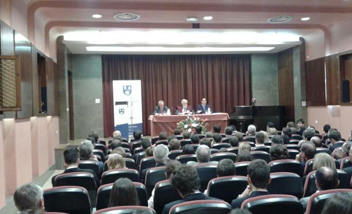 Acto de apertura del curso en el Colegio Mayor Guadaira