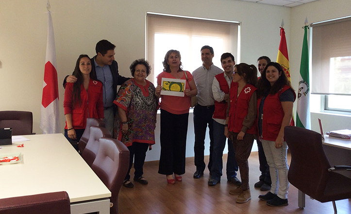 Entrega de la recaudación del «Globo Solidario» a Cruz Roja