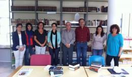 Vecinos y voluntarios gestionan la Biblioteca Vecinal de la Ranilla