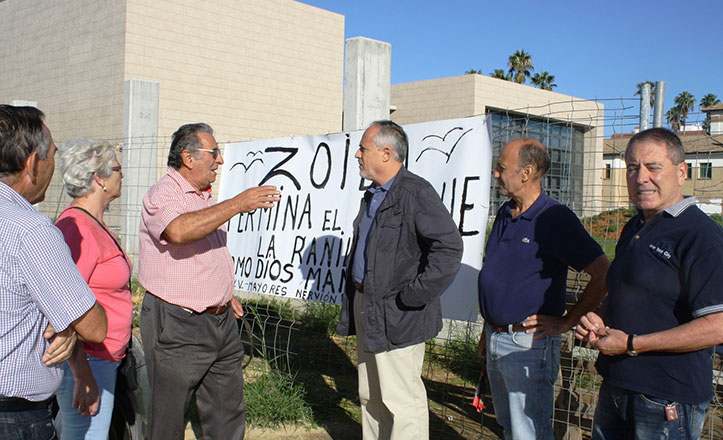 IU critica que las obras del Parque La Ranilla sigan paralizadas