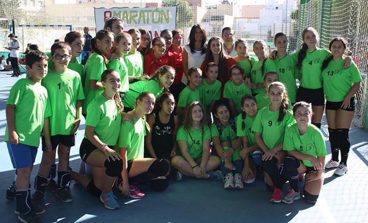 Club de Voleibol Adriano, del Distrito Macarena