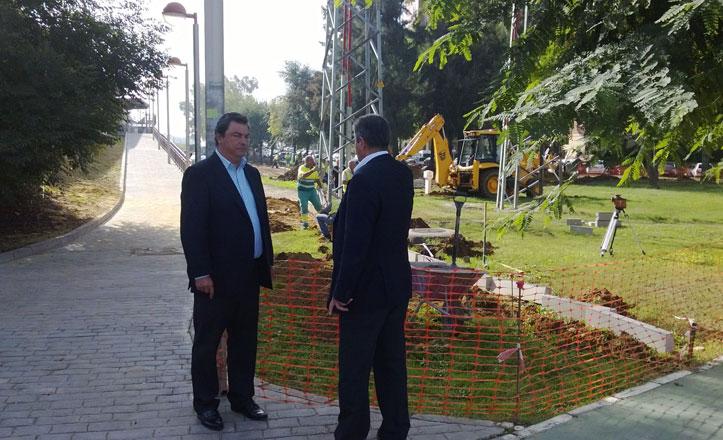 Remodelación del espacio verde en las cercanías de Fibes