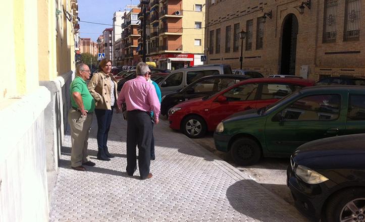 Pía Halcón visita las obras concluidas en Padre Méndez Casariego