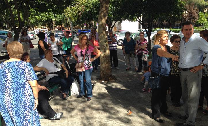 Espadas plantea mejoras urbanas en Parque Atlántico y San Matías