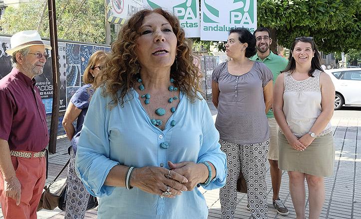 La candidata del PA, Pilar Távora, en una foto de archivo