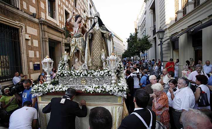 Primera procesión de Santa Teresa de Jesús en el Misterio de la Transverberación, en el año 2007 / Kako Rangel