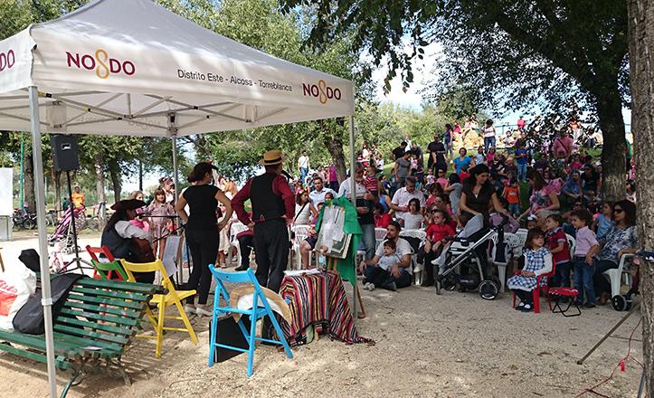 «Cántame un cuento», espectáculo en lengua de signos en el parque Infanta Elena
