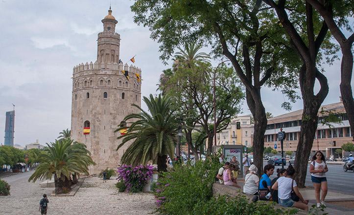 La Torre del Oro en Sevilla