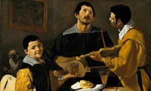 Los «Tres Músicos», una de las primeras obras de Velázquez