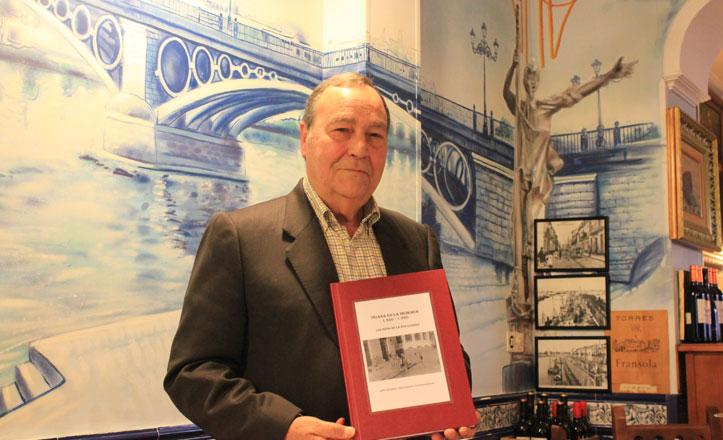 Esteban Hernández, el trianero que rememora la infancia de la posguerra