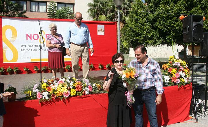 El parque Sinaí acoge el XI Aniversario de la asociación Huerta de Santa Teresa