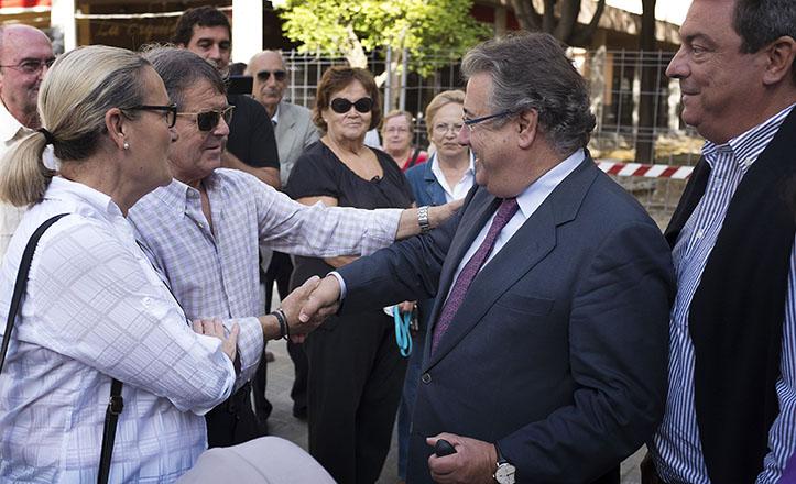 El alcalde de Sevilla, Juan Ignacio Zoido, visita las obras de Andalucía Residencial