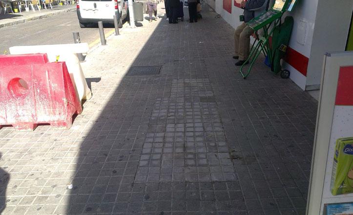 Arreglos en la calle Puerto del Suspiro